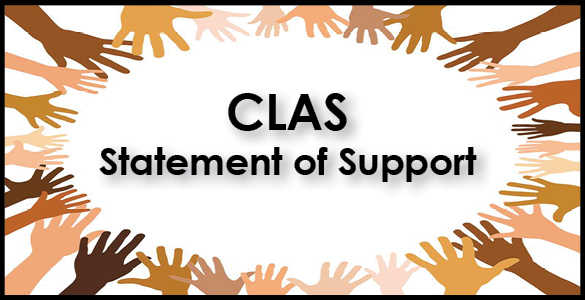 CLAS Statement of Support banner